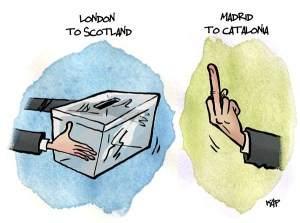Schottland-Katalonien