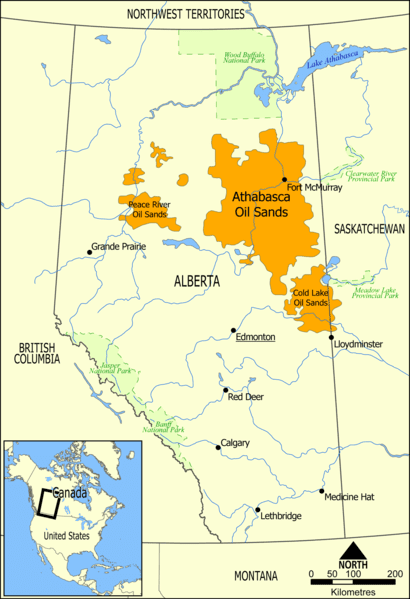 Ölsand Alberta