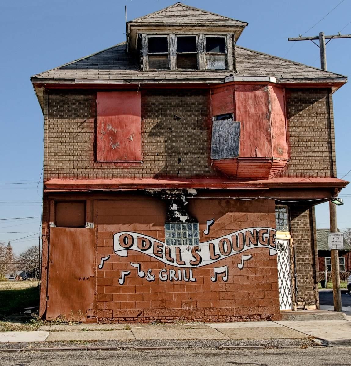 Abrisshaus Detroit