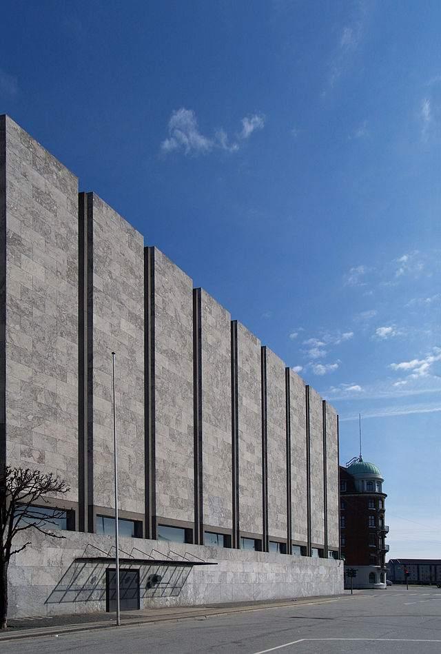 Dänemark Nationalbank Gebäude in Kopenhagen