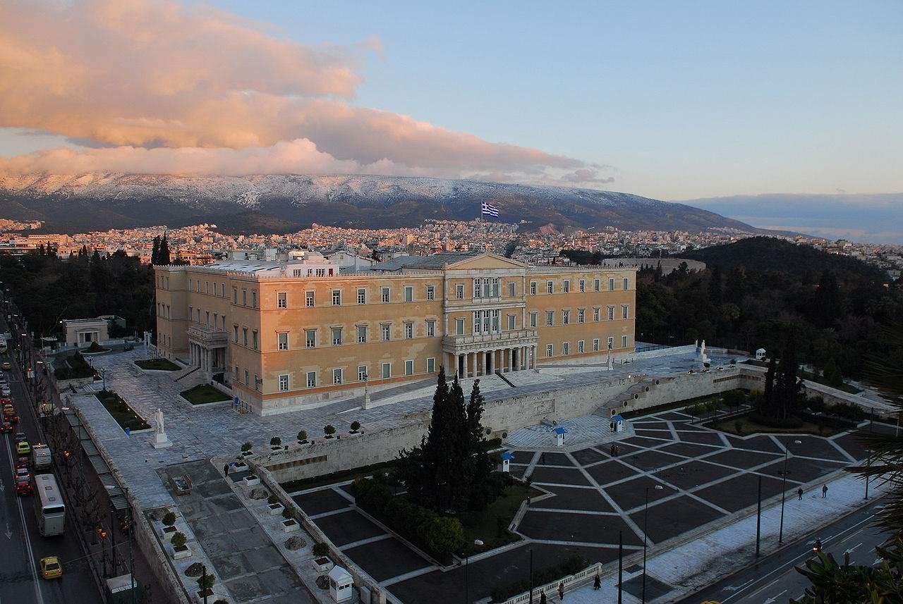 Griechenland Parlament in Athen