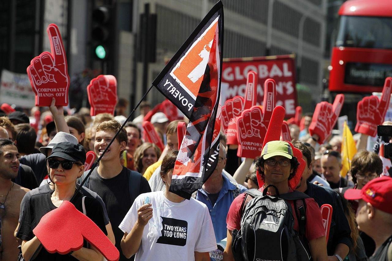 TTIP Proteste 2014 in London