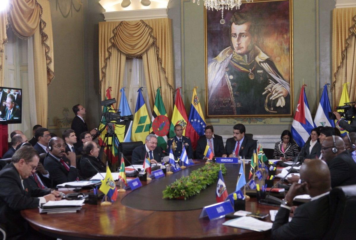 Venezuela beim ALBA-Treffen 19.03.2015