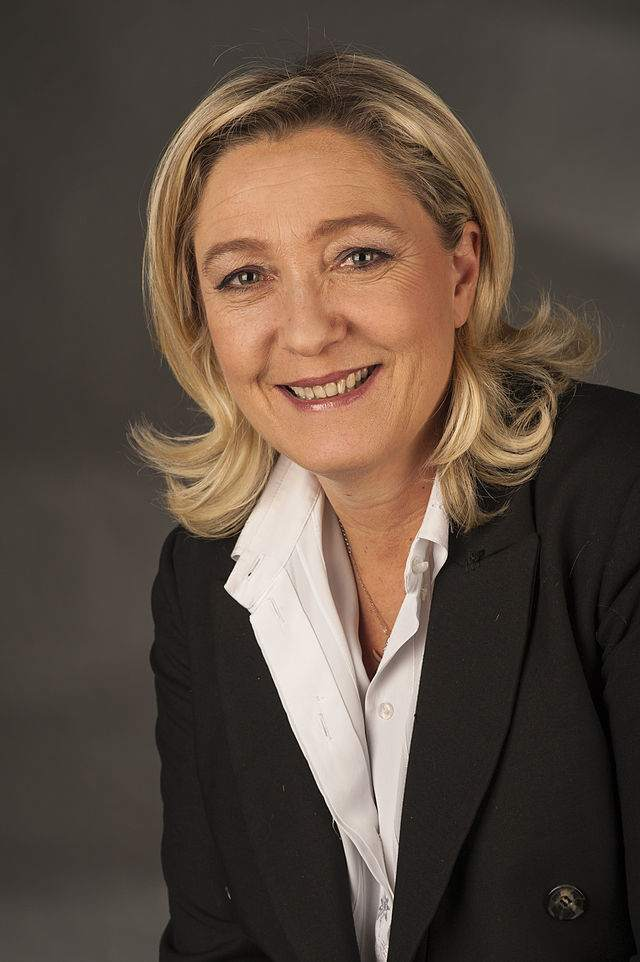 Frankreich Kandidatin Marie Le Pen