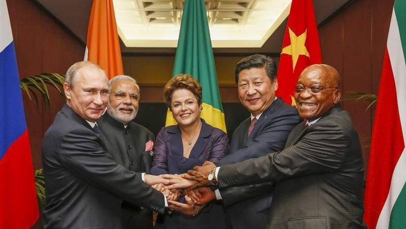 China und BRICS Staatschefs