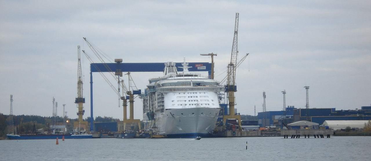 Meyer Turku Werft in Finnland
