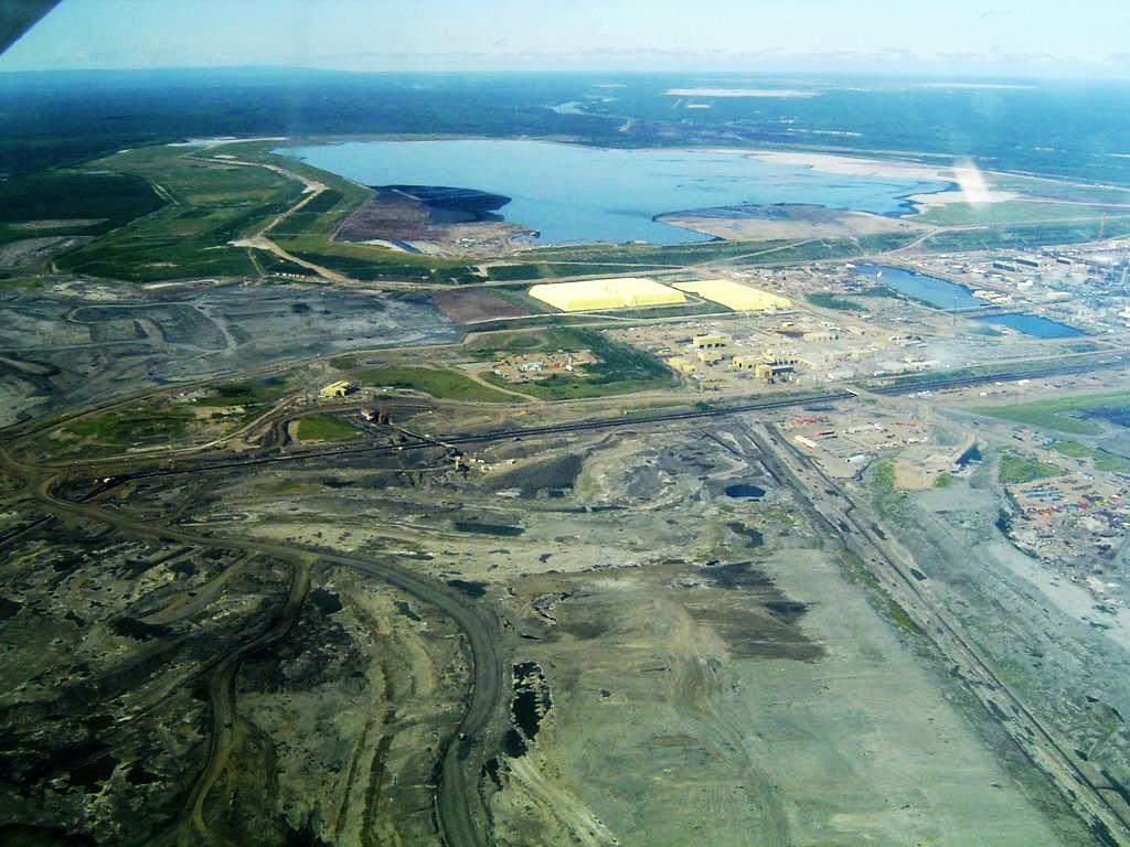 Ölsand-Abbau in Kanada