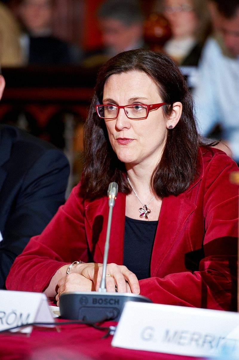 Cecilia Malmström will die Gemüter in Sachen TTIP beruhigen