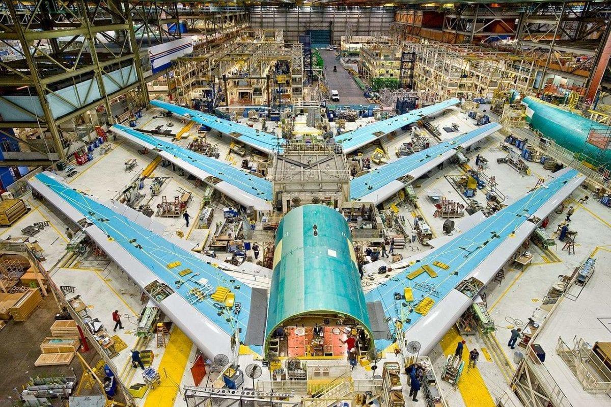 Reindustrialisierung Boeing neue Fabrik in den Südstaaten