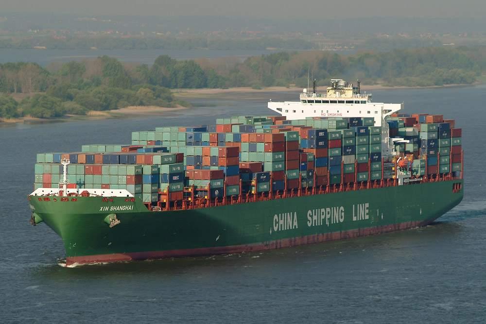 Containerschiff fast immer finanziert durch Geschlossene Fonds