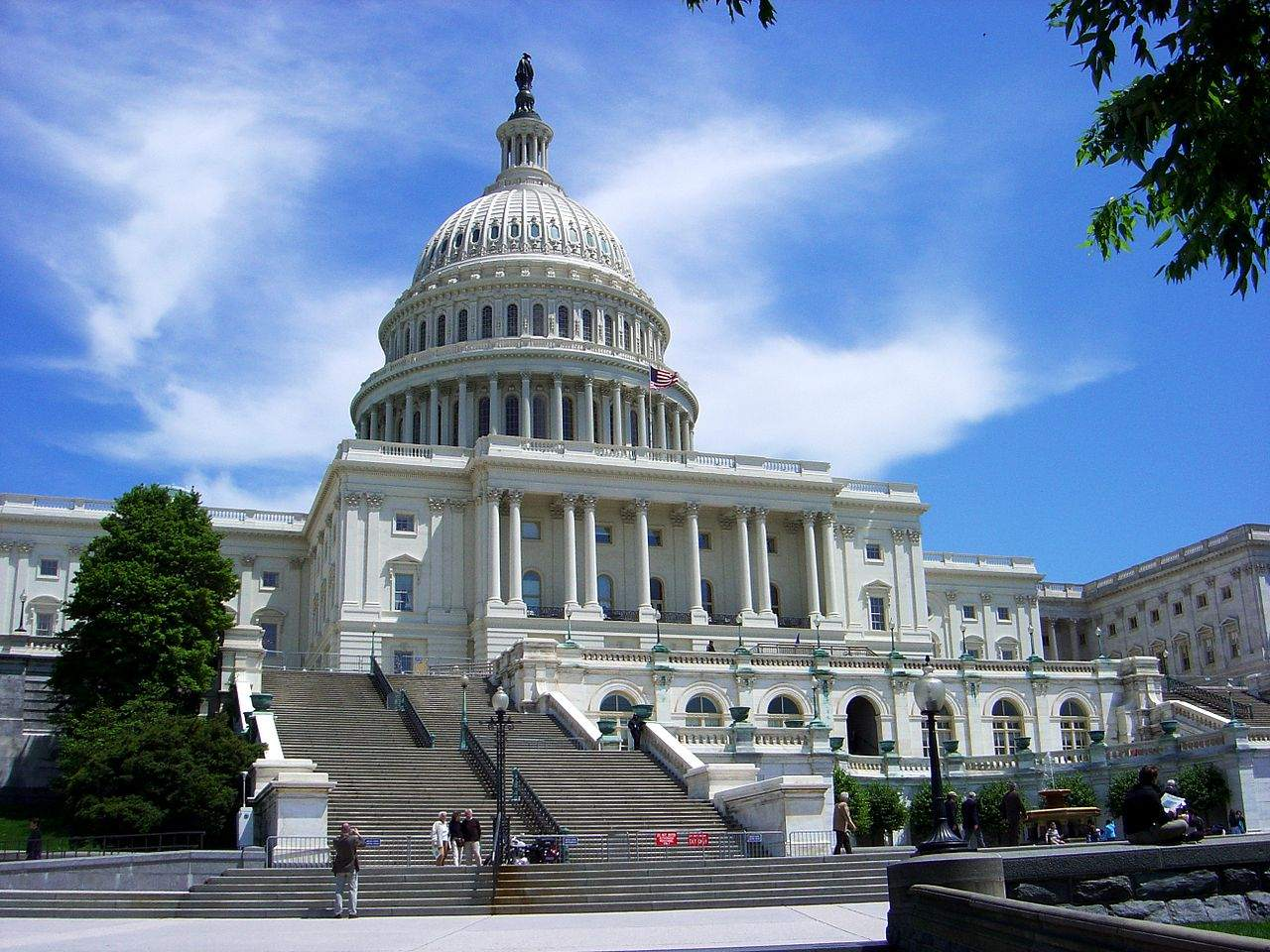 USA Kongressgebäude in Washington