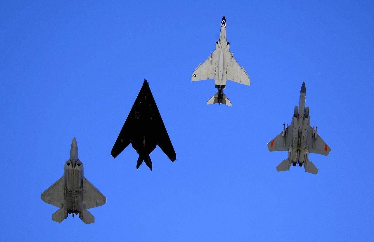 US-Kampfflugzeuge Terror Bekämpfung