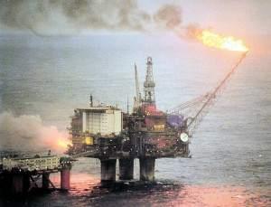 Norwegen-Statoil-Bohrinsel