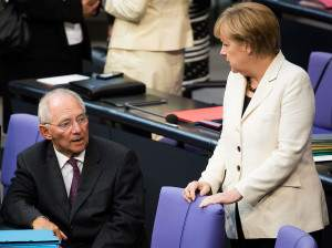 Schäuble-Merkel-Flüchtlinge