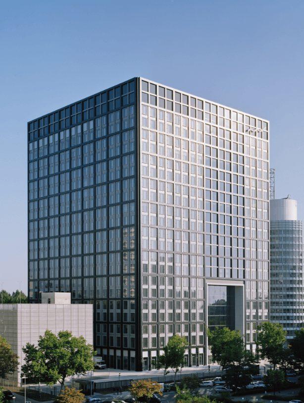 "Deutsche Börse Zentrale ""The Cube"""