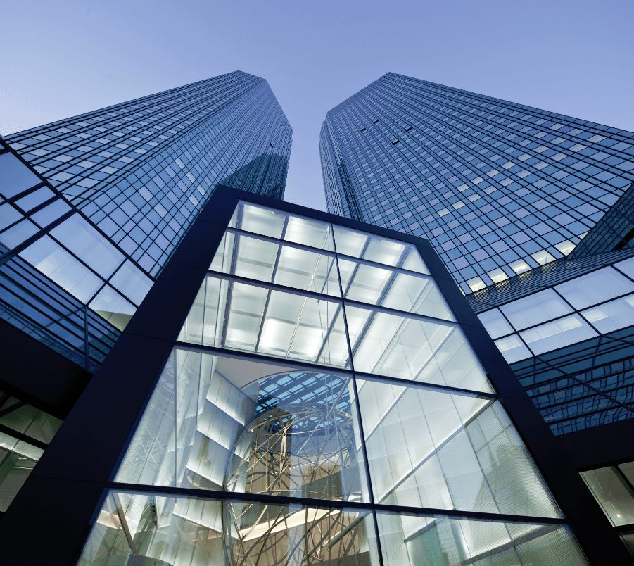 Die Deutsche Bank-Zentrale in Frankfurt