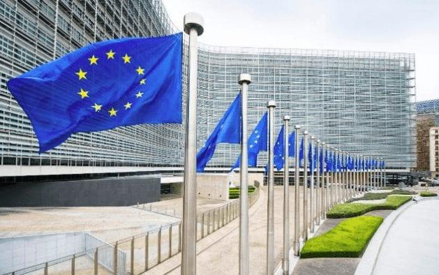 EU Flagge in Brüssel