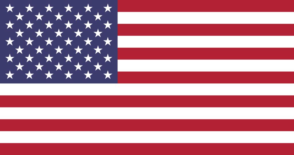 US-Insolvenzen USA-Flagge