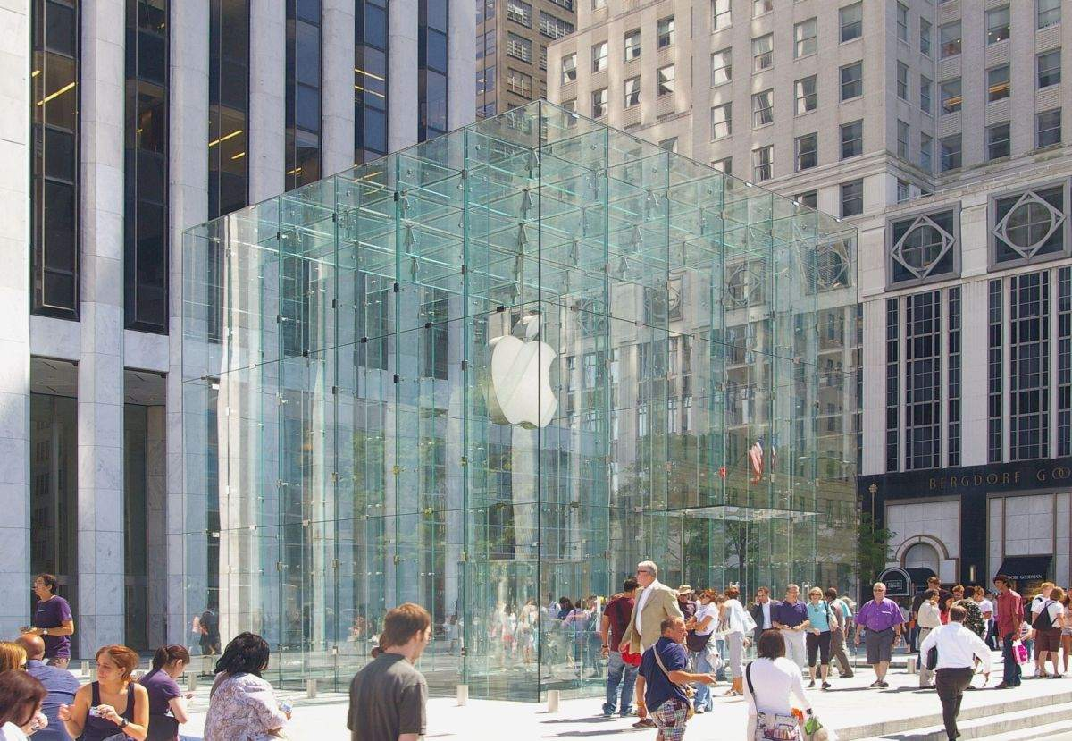 Apple Aktien kaufen? Der Store in New York