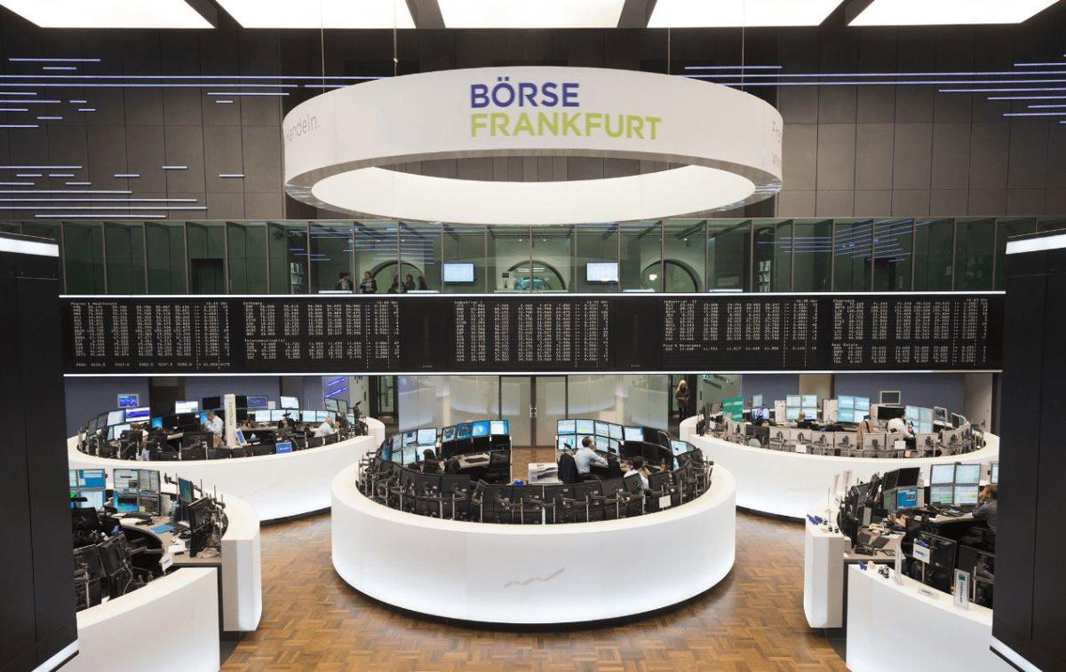 Parkett der Frankfurter Börse