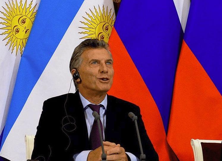 Argentinien Präsident Macri