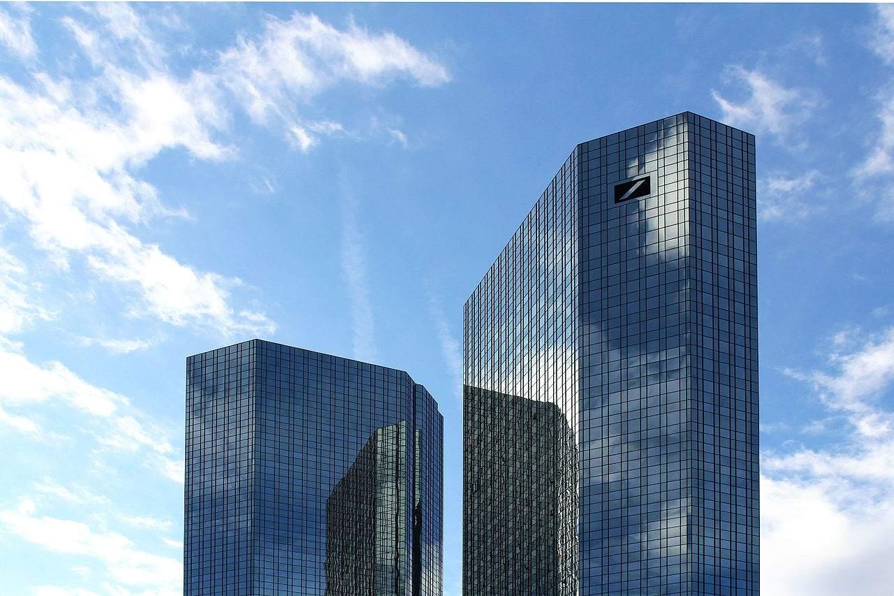 Die Deutsche Bank-Türme in Frankfurt
