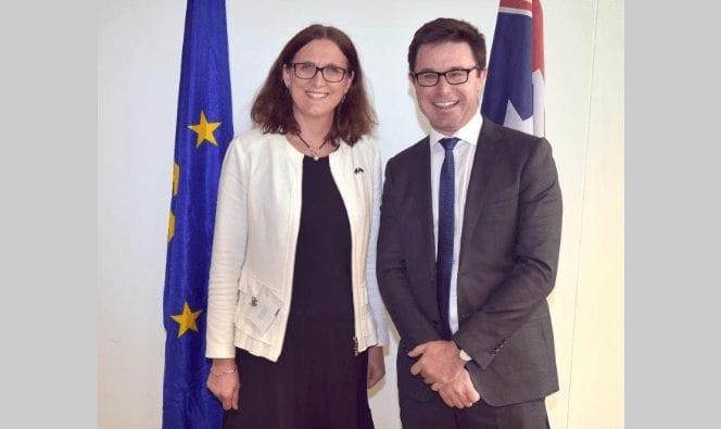 EU-Zölle gegen die USA - Cecilia Malmström