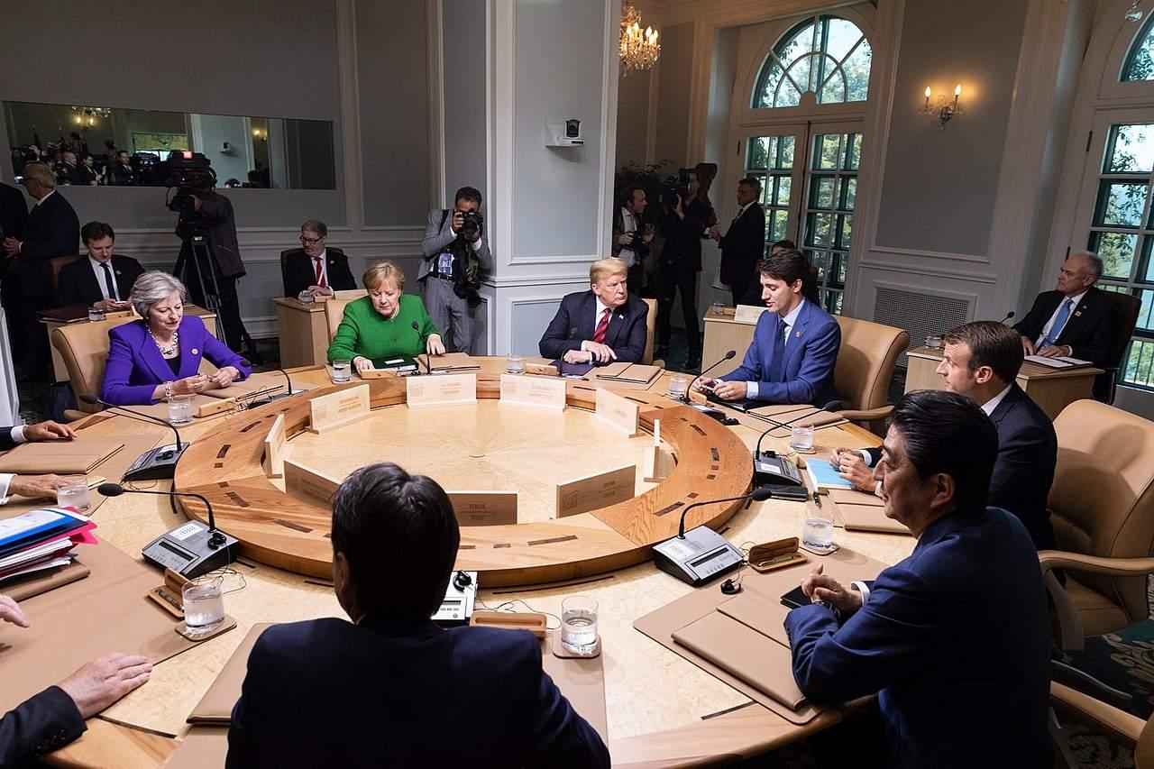 Handelskrieg? Die G7-Tagung war eigentlich Zeitverschwendung
