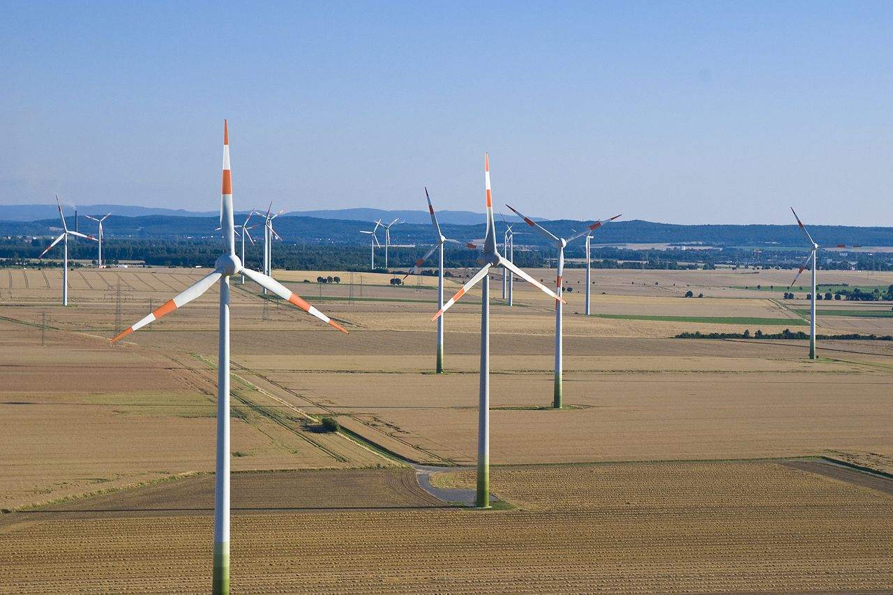Öko-Investments - Windkraft-Park in Niedersachsen