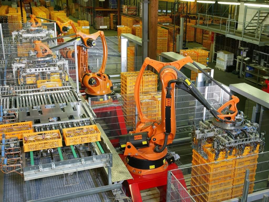 Automatisierung - Kuka-Roboter