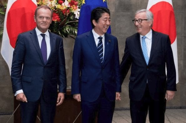 Freihandelsabkommen zwischen EU und Japan