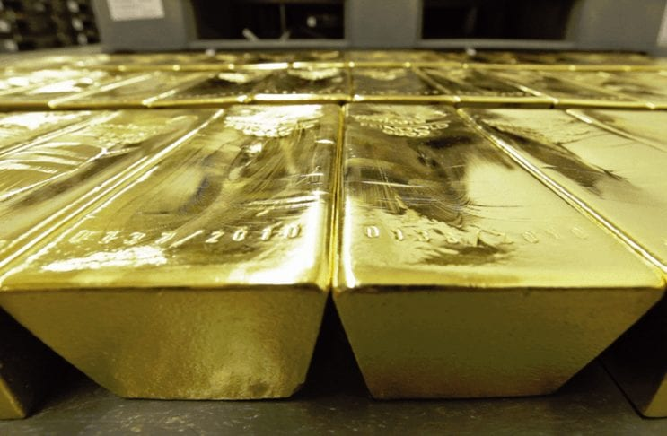 Gold im Tresor der Deutschen Börse