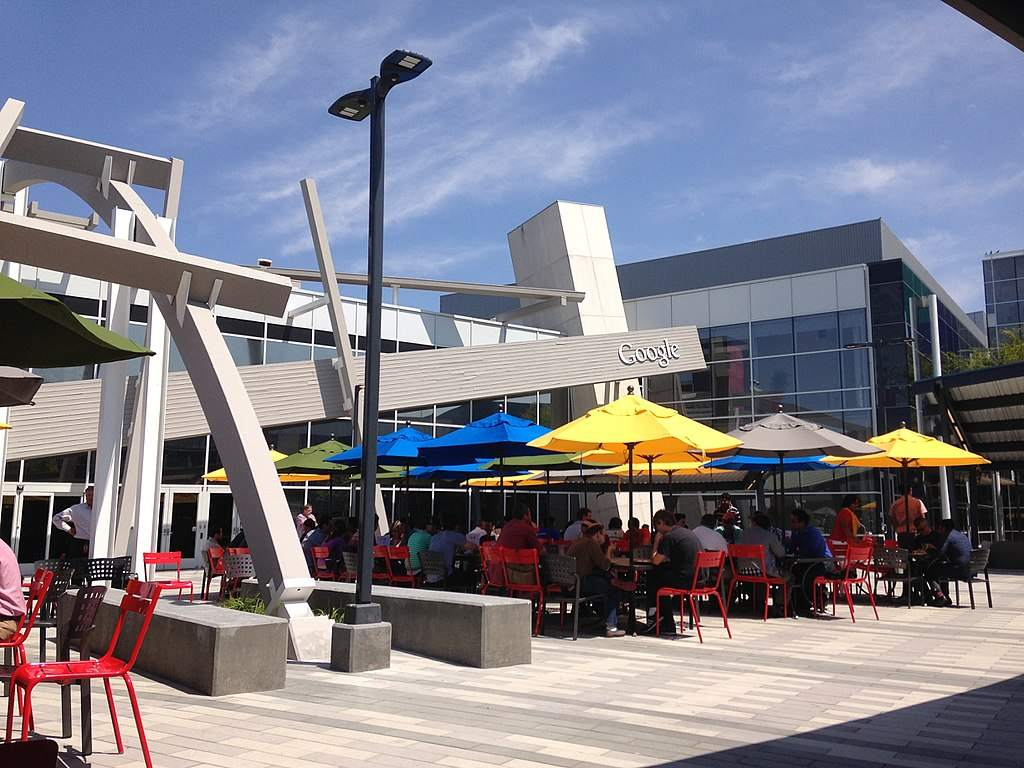 Google-Quartalszahlen - Google Campus
