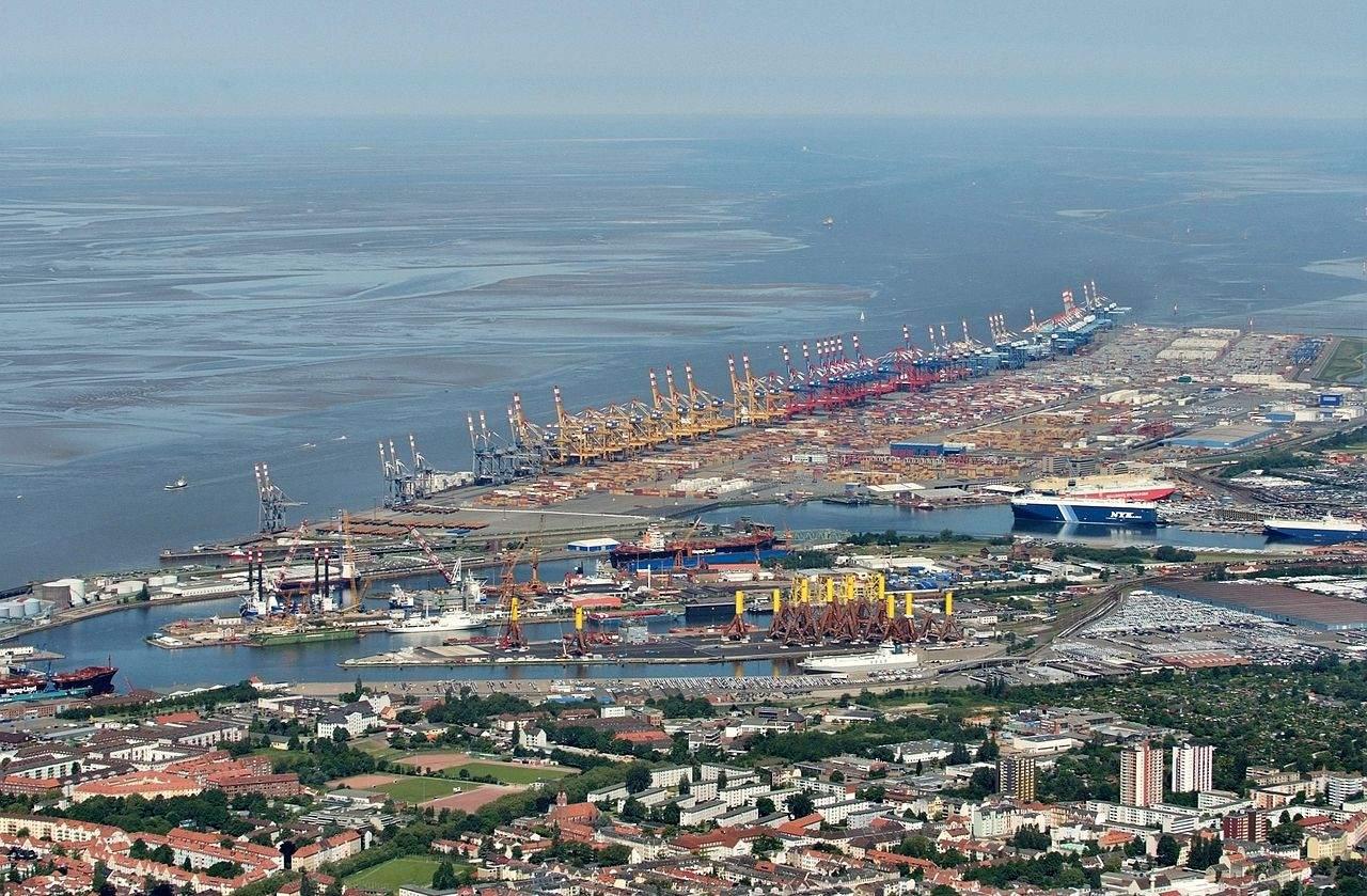 Bremerhaven Symbol für Handelskrieg mit den USA