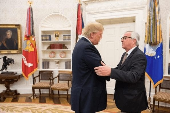 Juncker bei Trump