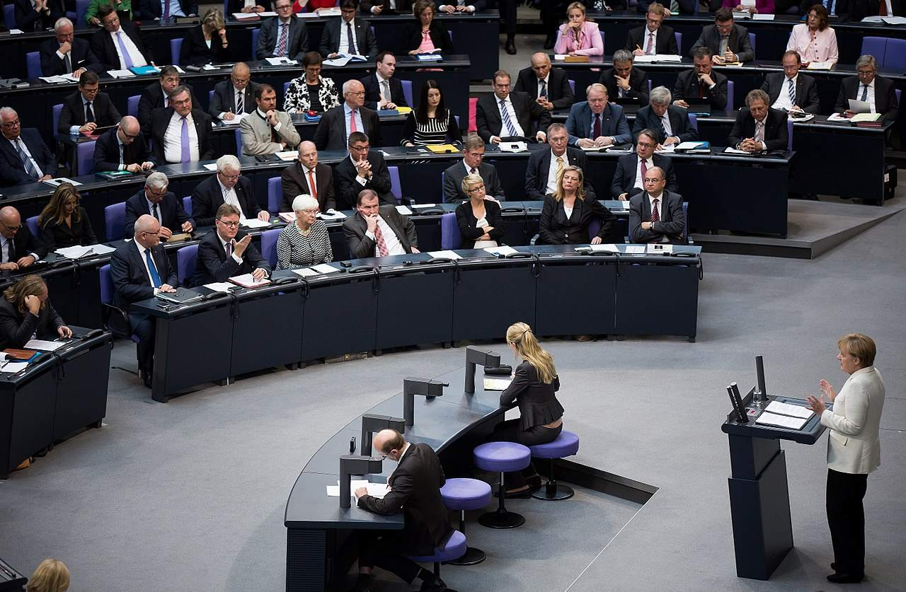 Upload-Filter Abstimmung im Bundestag