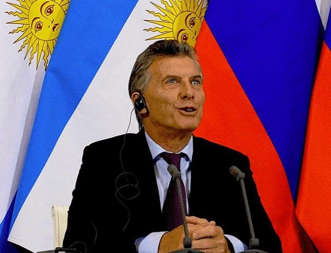 Argentinien Macri
