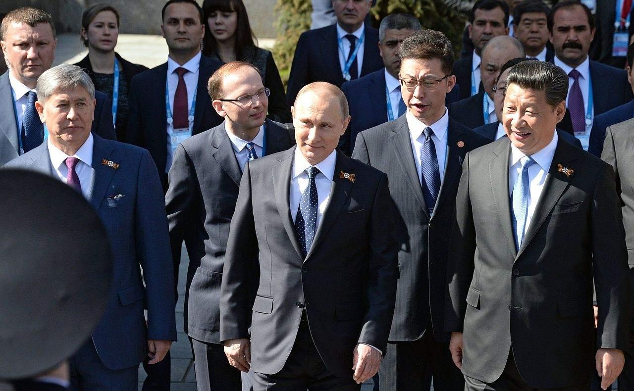Russland Putin Xi