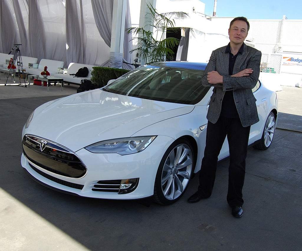 Tesla-Aktie im Plus - Elon Musk