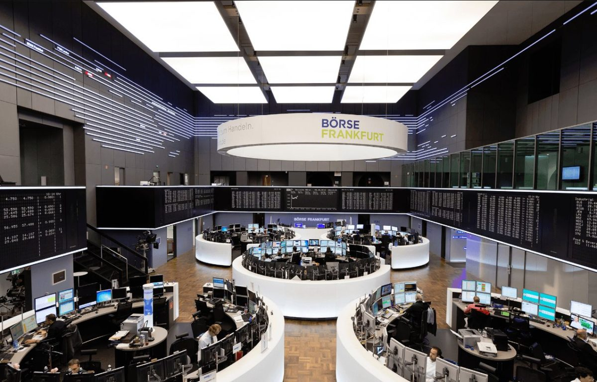 Deutsche Börse AG Parkett - Commerzbank fliegt aus Dax