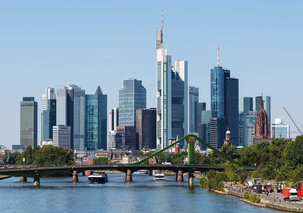 Deutsche Banken in Frankfurt