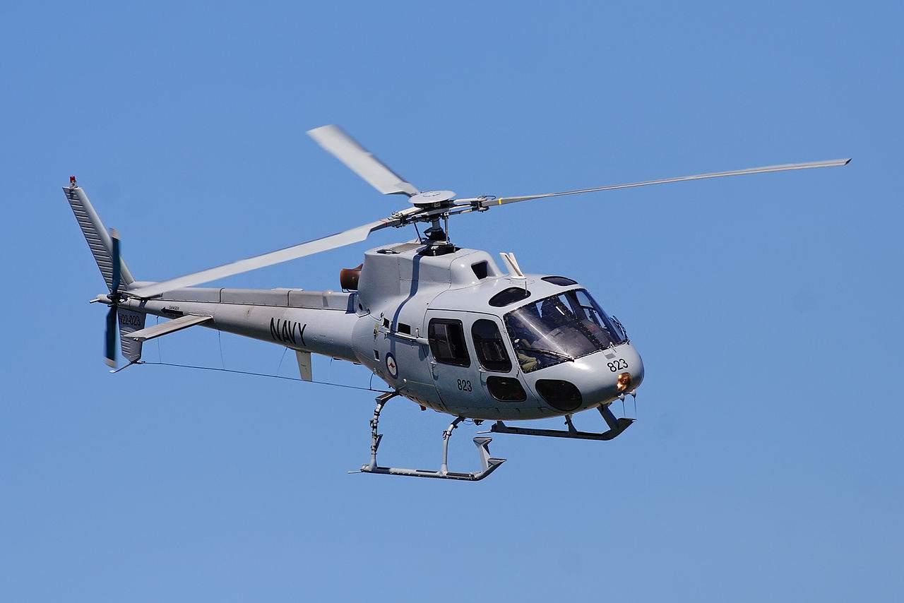 Beispielbild eines Helikopters - Helikoptergeld