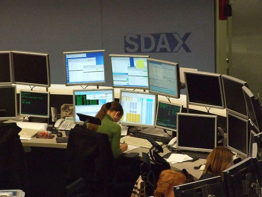 Investmentfonds? Börsen-Foto
