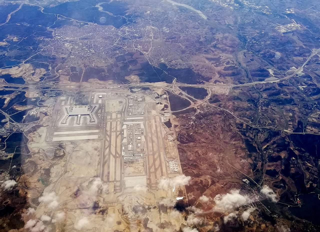 Neuer Flughafen in Istanbul