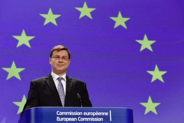 Italien Dombrovskis EU