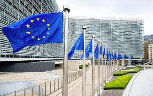 DSGVO - EU-Flaggen