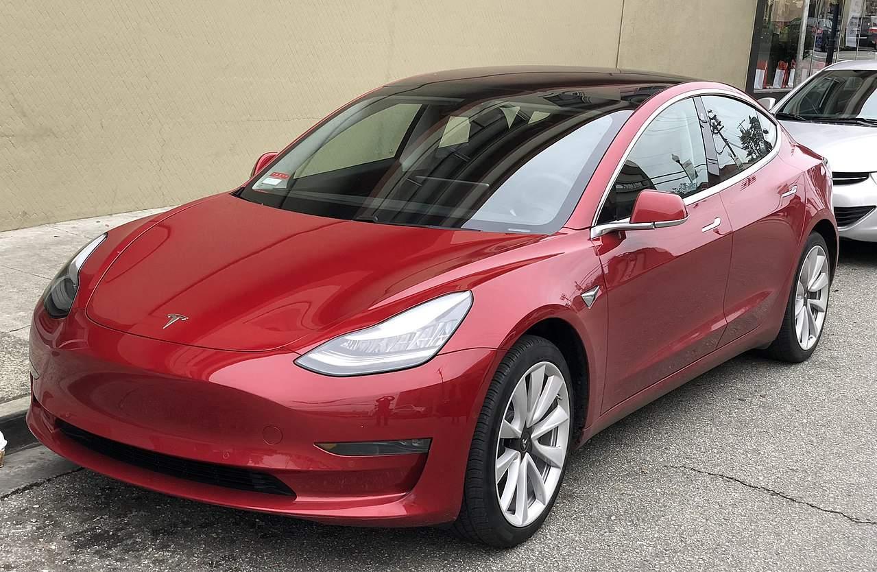 Tesla-Quartalszahlen - Tesla Modell 3