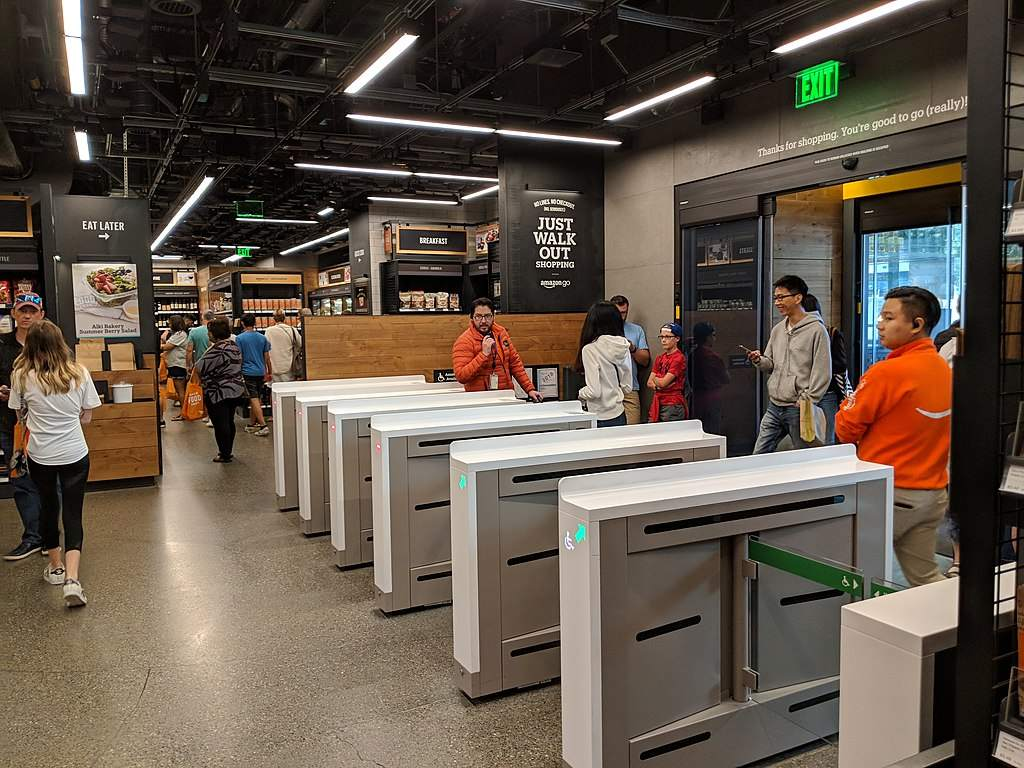 Amazon-Quartalszahlen - Amazon Go Store