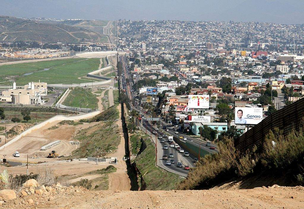 Grenze Mexiko