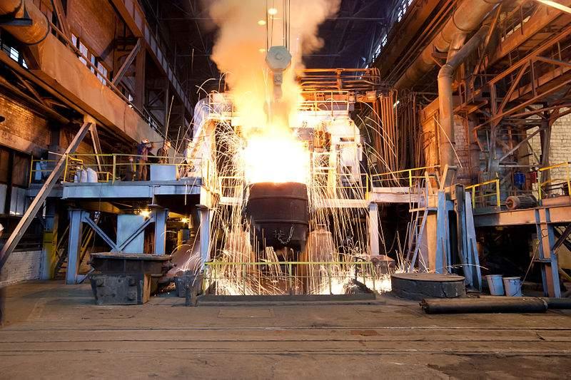 Stahlproduktion - Konjunkturabschwung